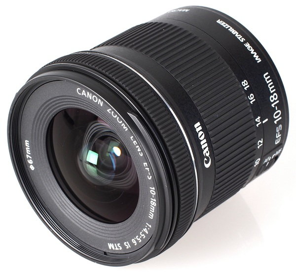 Lens Canon 10-18mm