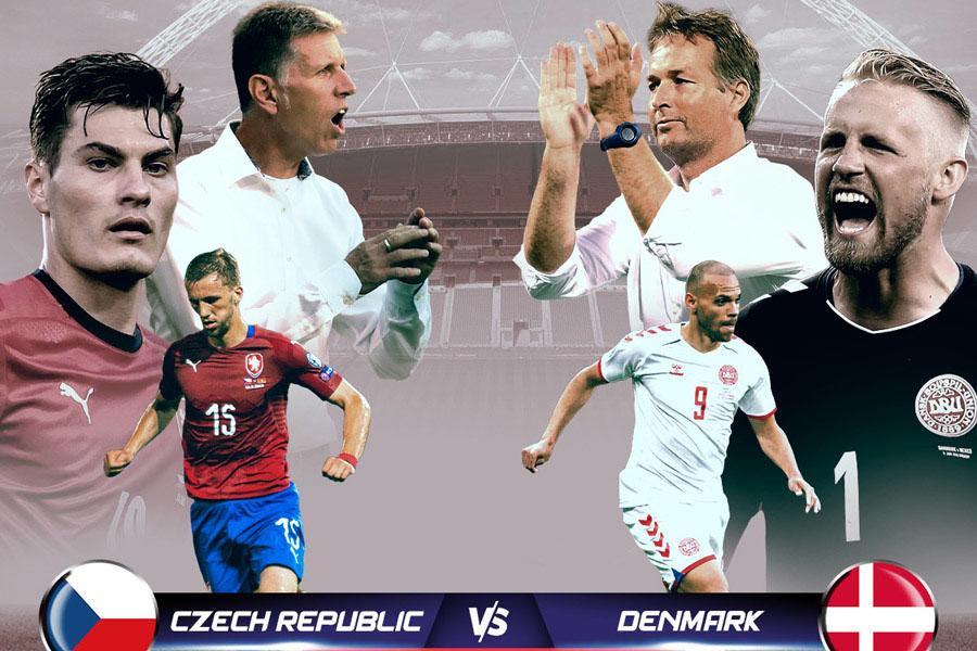 CH Séc vs Đan Mạch